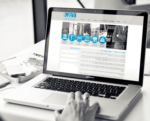 אתר לעורכי דין K&Y