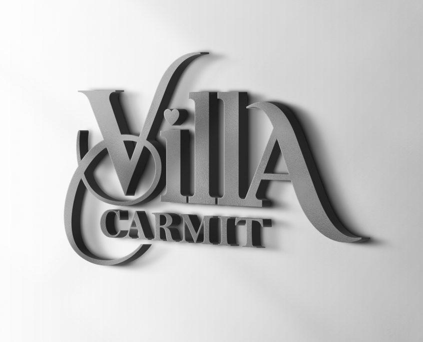 עיצוב לוגו לווילת יוקרה בגליל
