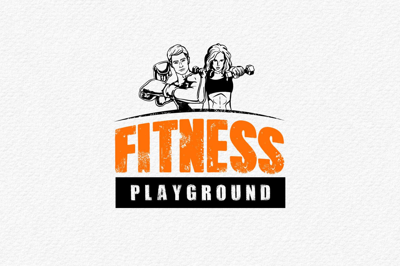 עיצוב לוגו למאמני כושר פונקציונאלי