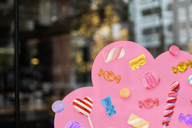 עיצוב-חנות-ממתקים-שילוט-חוץ
